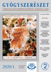 Gyógyszerészet 2020. 01. borító